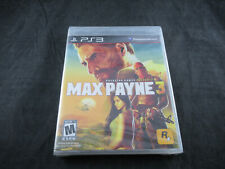 Max Payne 3 (Sony PlayStation 3, 2012) *Factory Sealed*