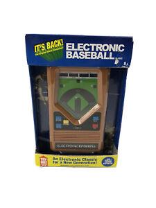 Electronic Baseball Game Handheld Classic Retro 2014 Mattel 1 or 2 Players 8+