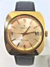 Gold HAMILTON MASTERPIECE Mens Thin-O-Matic Watch c.1970s Cal 629 Micro Rotor