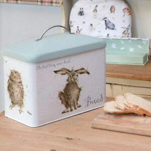 Wrendale Designs Country Kitchen Storage Tins, Bread Bin & Canisters Range Green
