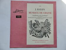 haydn mUSIQUE DE CHASSE oRCH  CHAMBRE COLOGNE helmut muller bruhl CL 38 charlin