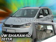 Wind deflectors VW SHARAN / SEAT ALHAMBRA 2010 - ON  4.pc  HEKO  31182