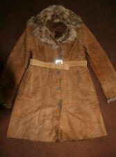 Manteau en cuir Anagram femme taille 40-42 hiver cuir Woman coat 10 US leather