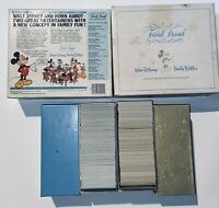 Vintage 1985 Trivial Pursuit Walt Disney Family Edition Subsidiary Card Set