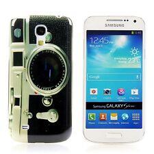 Samsung Galaxy s4 mini i9195, FUNDA RÍGIDA, FUNDA funda móvil estuche de protección Camera retro