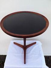VERY RARE HANS ANDERSEN TEAK TRIPOD SIDE TABLE CIRCA 1960s DANISH