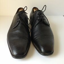 Mezlan Escorial Shoe Men's  Plain Toe Oxford Black SZ10.5M