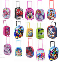 Disney Children Character Travel Holiday Trolley luggage Wheel bag Suitcase