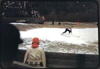 1949 Bobsled Run Lake Placid 35mm Slide 1940s Kodachrome