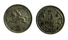 pcc1965_7) LITUANIA 5 PENKI LITAI 1925 Silver