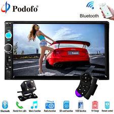 """Caméra + Double 2 Din 7"""" HD Autoradio Écran tactile Player MP5 SD/FM/USB/AUX/BT"""