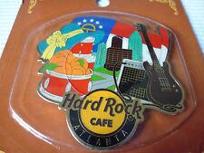 1 Hard Rock Cafe Alternative City Magnet Atlanta,Kein Opener oder Pin
