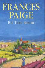 Very Good, Bid Time Return, Paige, Frances, Book