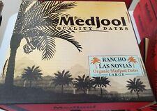 11LB  FRESH ARIZONA LARGE PREMIUM ORGANIC MEDJOOL DATES FROM RANCHO LAS NOVIAS.