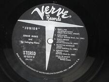 JUNIOR MANCE - His Swinging Piano ~ VERVE 8319  *STEREO* w/Ray Brown ->VERY RARE