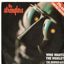 "The Stranglers - Who WAnts The World 7"" Single 1980"