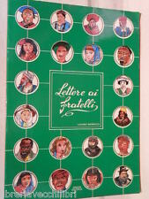 LETTERE AI FRATELLI Luciano Marrucci Grazia Editrice 1988 libro di religione
