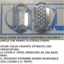 GUSCIO COVER CHIAVE FIAT DUCATO PUNTO EVO 500 LANCIA Y DELTA VERNICIATO CROMATO