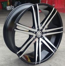 "24"" INCH B20B WHEELS RIMS AND TIRES YUKON ESCALADE F150 TAHOE SILVERADO SIERRA"