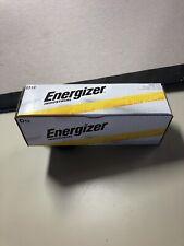 12 Energizer Industrial D Alkaline Batteries (EN95, LR20)