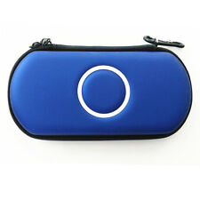 Blue Hard Case Protective Carry Cover Bag Pouch For Sony PSP 1000 2000 3000