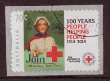 Sellos, usado, Cruz Roja