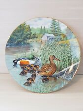 """The Northern Shoveler by Bart Jerner Collector Plate #1058F 8.5"""" 1987 Mint Cond"""