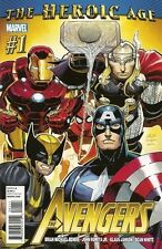 THE AVENGERS The Heroic Age Issue # 1 Marvel Comic Book 1st Print NM Vol. 4 Four