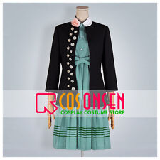 Cosonsen Amnesia Heroine Cosplay Costume Green Dress Full Set Halloween Cosplay