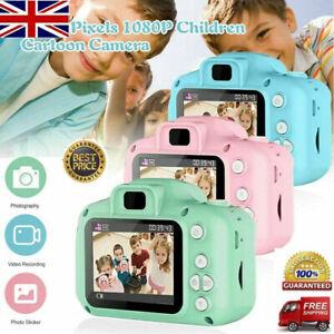 Mini Digital Children Camera HD 1080P LCD Camera Toy Kids Gift + 32G TF Card UK