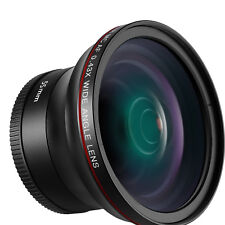 Neewer 55mm 0.43x HD Wide Angle Lens with Macro Portion for D3400 D5600 Sony A33