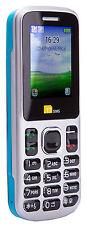 TTsims TT130 Dual 2 Sim Teléfono Móvil Barato Cámara Bluetooth Doble más baratos-Azul