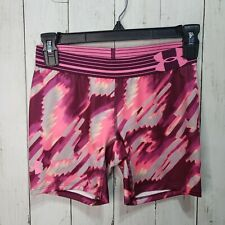 Under Armour Youth Printed Compression Shorts Size Large