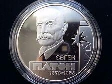 "Ukraine,5 hryven coin ""Evgeny Paton"" Silver 2010 year"