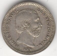1869 Netherlands Willem III 5 Cents | Silver | Coins | Pennies2Pounds