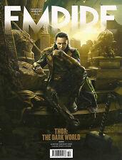 EMPIRE October 2013,Thor The Dark World,LOKI Tom Hiddleston LIMITED EDITION NEW