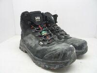 HELLY HANSEN Men's Composite Toe Composite Plate Mid Cut Work Shoe Black 9M