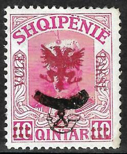 Albania 1921 Postage Due Stamps with overprinting horn 2/10 MNH - Rare