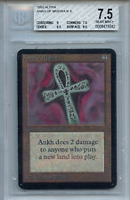 MTG Alpha Ankh of Mishra BGS 7.5 NM+ card Magic the Gathering WOTC 5042