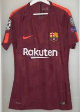Match worn shirt jersey Barcelona Spain Champions League 17-18 Borussia Germany