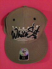 Chicago White Sox 47 Brand Stretch Fit Hat Gray S/M
