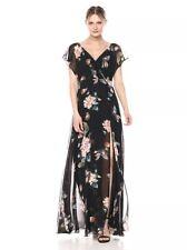 JENNY YOO Alanna Ohana Print Chiffon Gown (2) Nordstrom