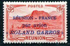 REUNION 1937 Yvert PA 1 * TADELLOS FLUG ROLAND GARROS 360€(S3757