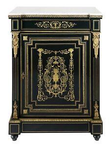 French XIX century Napoleon III - Boulle cabinet
