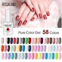 15ml Rosalind Nail Gel Polish Color Art Manicure Top Base Coat Soak Off
