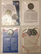 USAA Insurance Challenge Coins - United Way - 4 Total