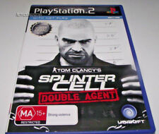 Tom Clancy's Splinter Cell Double Agent PS2 PAL *Complete*