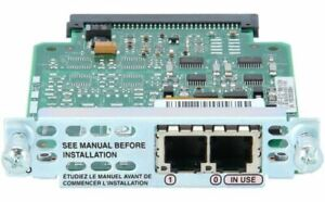 USED Cisco VIC2-2FXO 2 Port Voice Interface Card FXO Module