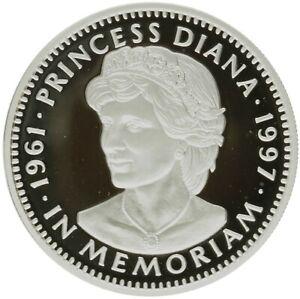 Liberia - Silver 20 Dollars Coin - 'Princes Diana-In Memoriam' - 1997 - Proof
