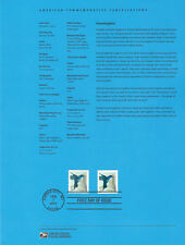 #1407 34c Hummingbird #4857 & 8 Souvenir Page
